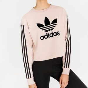 Adidas Fashion League Sweatshirt Ash Pearl Pink